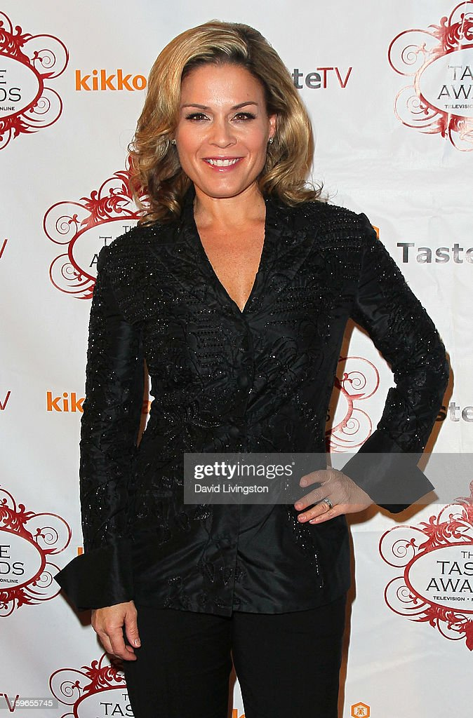 Chef Cat Cora attends the 4th Annual Taste Awards at Vibiana on January 17, 2013 in Los Angeles, California.