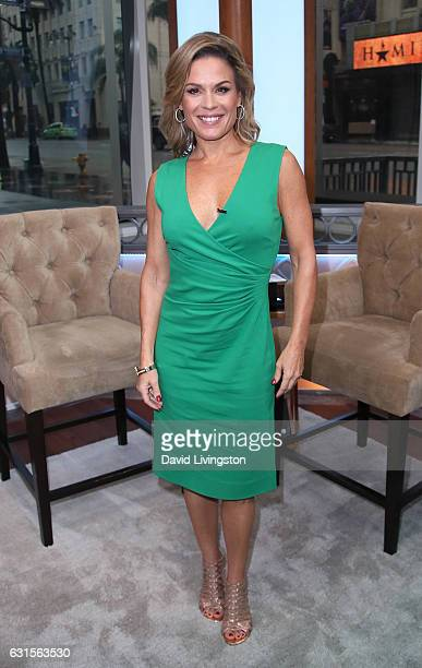 Chef Cat Cora visits Hollywood Today Live at W Hollywood on January 12 2017 in Hollywood California