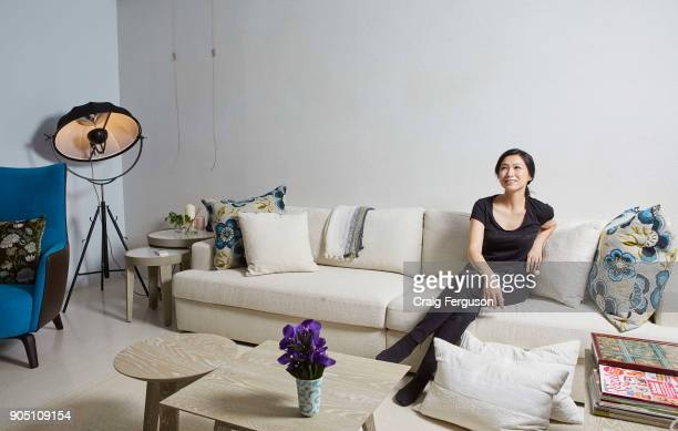 Chef Chen Lansu pictured in her apartment Chef Chen was listed as Asia's best female chef in 2014 and her restaurant Le Mout is repeatedly placed in...