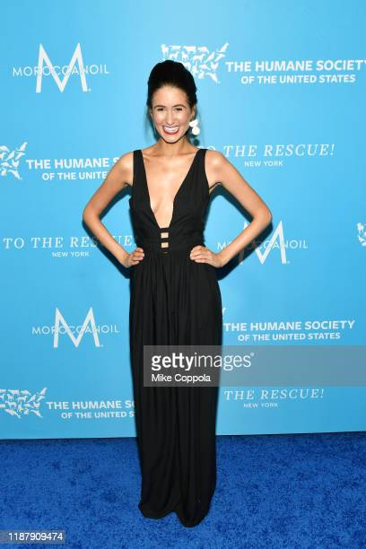 Chef Chloe Coscarelli arrives to the Humane Society Of The United States To The Rescue New York Gala 2019 at Cipriani 42nd Street on November 15 2019...