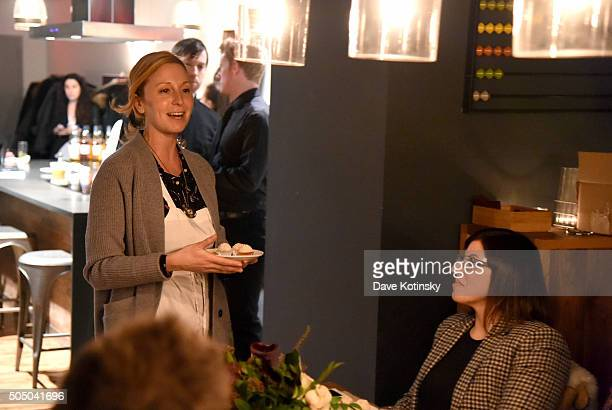 Chef Christina Tosi at The Glenlivet Burns' Night Supper at New York City's The Kitchen Table on January 14 2016 in New York City