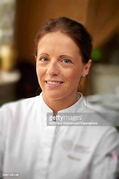 Chef Claire Heitzler is photographed for Madame Figaro on July 10 2014 in Paris France CREDIT MUST READ Bernhard Winkelmann/Figarophoto/Contour by...