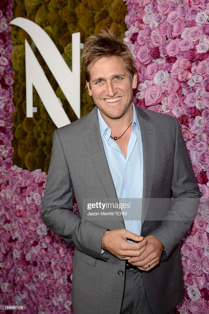 Chef Curtis Stone celebrates the opening of the new Nespresso Beverly Hills Flagship boutique on October 23, 2013 in Beverly Hills, California. The 7,500 square foot space offers guests the ultimate coffee experience.