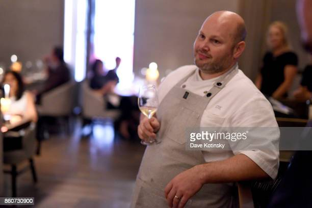 Chef Dan Kluger attends a Dinner with Charlie Palmer Matt Lambert and Dan Kluger part of the Bank of America Dinner Series presented by The Wall...