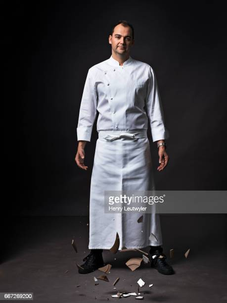 Chef Daniel Humm is photographed for Esquire Magazine on December 21 in New York City