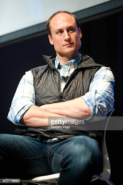 Chef Dave Beran attends food For Thought At Chicago Ideas 2016 at Venue SIX10 on April 20 2016 in Chicago Illinois