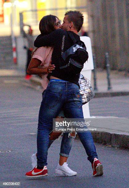 Chef David Munoz and Cristina Pedroche are seen on August 24 2015 in Madrid Spain