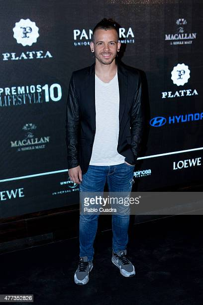 Chef David Munoz attends Lifestyle 10 Awards at Platea on June 16 2015 in Madrid Spain