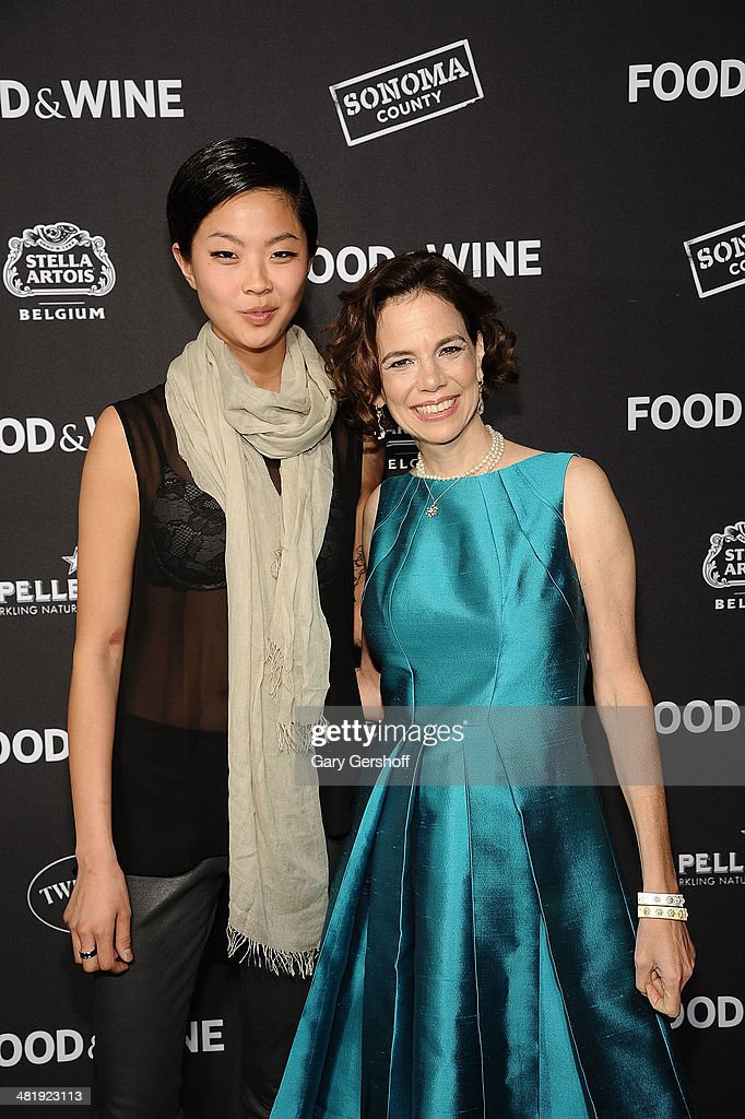 Chef de cuisine Kristen Kish (L) and FOOD & WINE Editor in Chief Dana Cowin attend the 2014 FOOD & WINE Best New Chefs Party at Powerhouse at The American Museum of Natural History on April 1, 2014 in New York City.