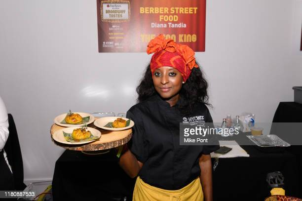 Chef Diana Tandia attends Four Roses Bourbon's Broadway Tastes presented by iHeartRadio Broadway hosted by Alex Brightman with special guest Randy...