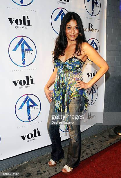 Chef Diane Dimeo attends the grand opening of The Attic Rooftop Lounge on June 11 2014 in New York City
