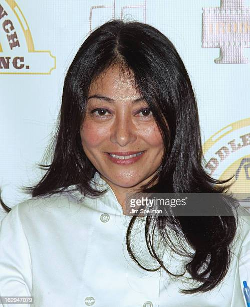 Chef Diane DiMeo attends the opening night party for the 2013 First Time Fest at The Players Club on March 1 2013 in New York City
