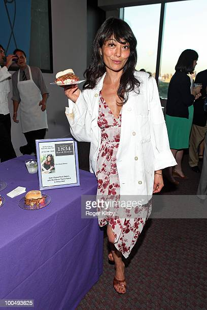 Chef Diane Dimeo of 1834 Bar and Burger attends the 3rd Annual Cookin' Up a Cure Benefit for the Pancreatic Cancer Action Network at the Frederick P...