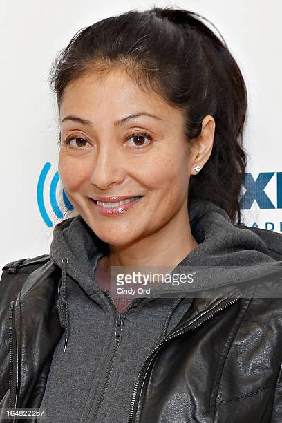 Chef Diane DiMeo visits the SiriusXM Studios on March 28 2013 in New York City