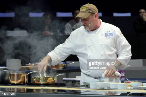Chef Donald Link at the AllStar Chef Classic Grill And Chill Presented By dineLA And Stella Artois at LA LIVE on March 22 2014 in Los Angeles...