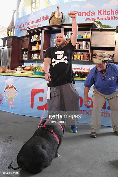 Chef Duff Goldman attends Fun and Fit as a Family sponsored by Carnival featuring Goya Kidz Kitchen during the 2015 Food Network Cooking Channel...