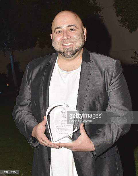 Chef Duff Goldman poses for portrait at the 3rd Annual Save A Child's Heart Gala at Sony Studios Commissary on November 13 2016 in Culver City...
