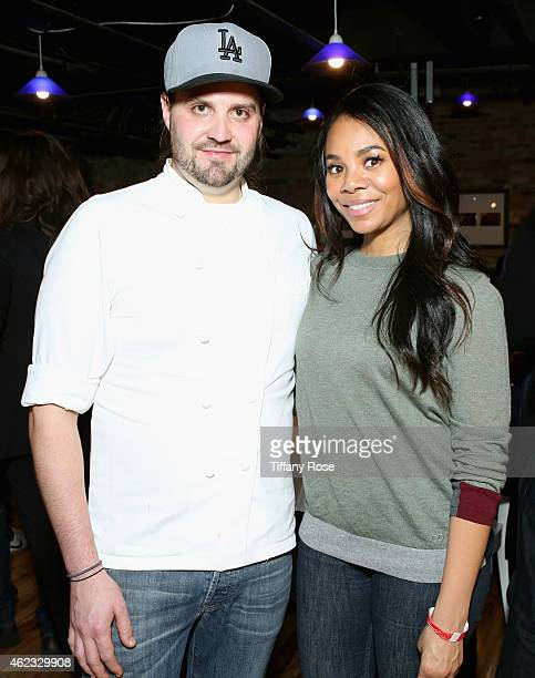 Chef Dustin Trani and Regina Hall attend ChefDance 2015 presented by Victory Ranch and sponsored by Merrill Lynch, Freixenet, Anchor Distilling, and...