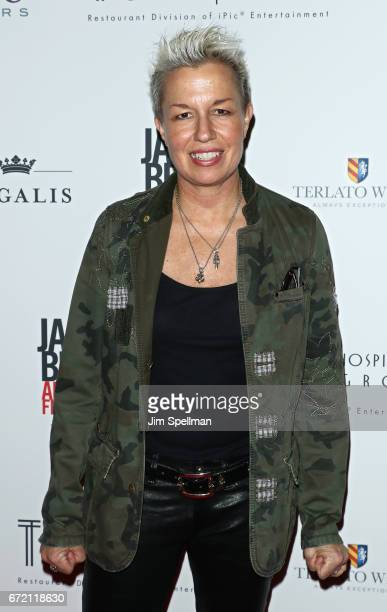 Chef Elizabeth Falkner attends the James Beard America's First Foodie NYC premiere at iPic Fulton Market on April 23 2017 in New York City