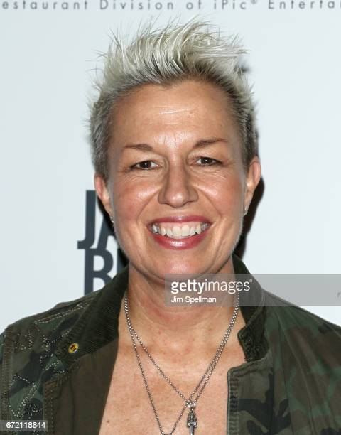 """Chef Elizabeth Falkner attends the """"James Beard: America's First Foodie"""" NYC premiere at iPic Fulton Market on April 23, 2017 in New York City."""