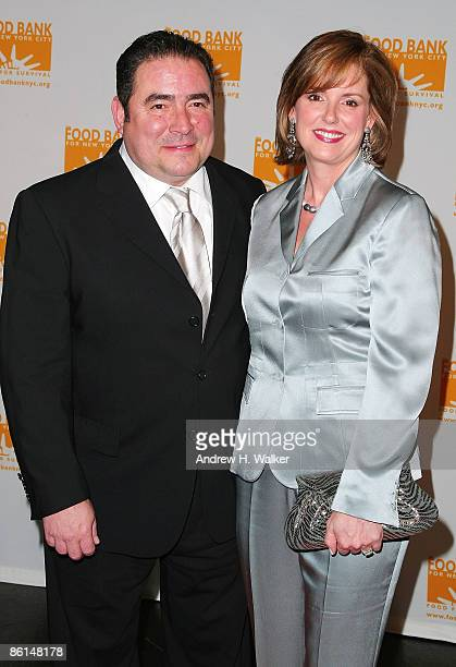 Chef Emeril Lagasse and Alden Lovelace attend the 6th annual CanDo Awards dinner and auction hosted by the Food Bank for New York City at Abigail...