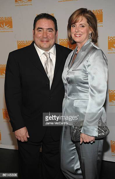 Chef Emeril Lagasse and Alden Lovelace attend the Food Bank For New York City's Sixth Annual CanDo Awards at Abigail Kirsch's Pier Sixty at Chelsea...