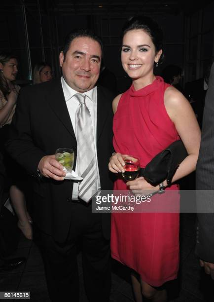 Chef Emeril Lagasse and Katie Lee Joel attend the Food Bank For New York City's Sixth Annual CanDo Awards at Abigail Kirsch's Pier Sixty at Chelsea...