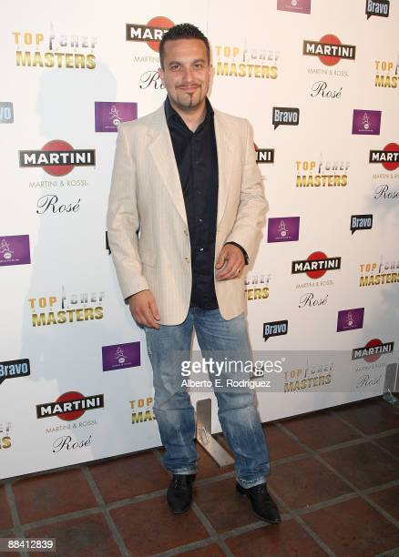 Chef Fabio Vivani arrives at a screening of Bravo's Top Chef Masters on June 10 2009 in Los Angeles California