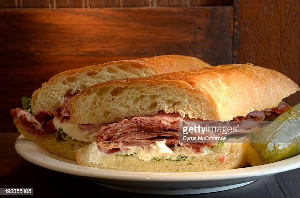 Chef Frank Bonanno's new restaurant Salt & Grinder features sandwiches with grinder rolls for sandwiches on Wednesday, May 21, 2014.This the Frankie:...