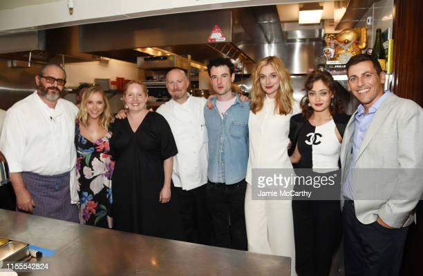 Chef Frenchette Riad Nasr Stephanie Danler Cofounder of Food52 Merrill Stubbs Chef Frenchette Lee Hanson Tom Sturridge Caitlin FitzGerald Ella...