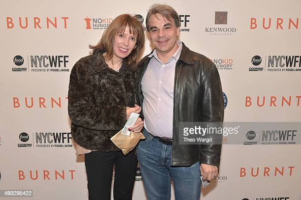 Chef Gabriel Kreuther attend the Private Screening Of BURNT QA Panel And Reception With Bradley Cooper And Sienna Miller during Food Network Cooking...