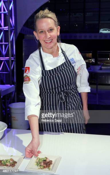 Chef Gabrielle Hamilton at the AllStar Chef Classic Grill And Chill Presented By dineLA And Stella Artois at LA LIVE on March 22 2014 in Los Angeles...