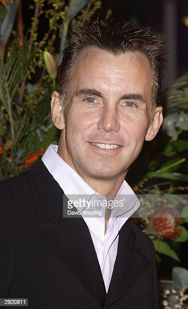 TV chef Gary Rhodes attends the 2003 TV Moments award ceremony at BBC TV Centre January 31 2004 in London England The show features a celebrity...
