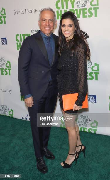 Chef Geoffrey Zakarian and Margaret Anne Williams attend the 2019 City Harvest Gala at Cipriani 42nd Street on April 30 2019 in New York City