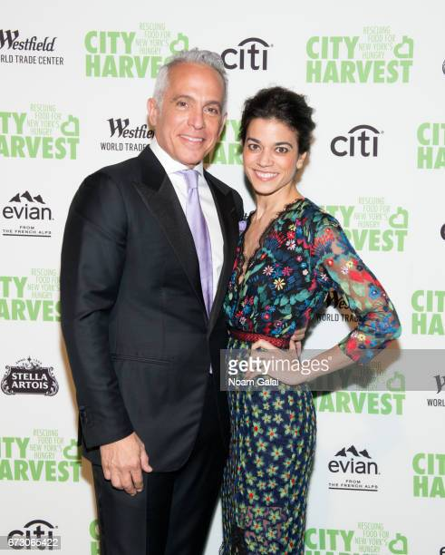 Chef Geoffrey Zakarian and Margaret Anne Williams attend the 23rd Annual City Harvest An Evening of Practical Magic Gala at Cipriani 42nd Street on...