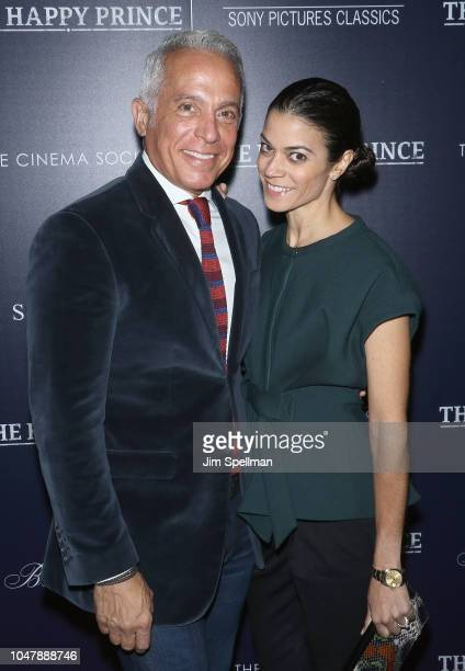 Chef Geoffrey Zakarian and Margaret Anne Williams attend the special screening of Sony Pictures Classics' The Happy Prince hosted by The Cinema...