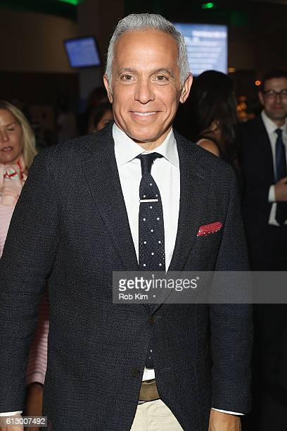 Chef Geoffrey Zakarian of The Lambs Club attends City Harvest's 22nd Annual Bid Against Hunger at Pier 36 on October 6, 2016 in New York City.