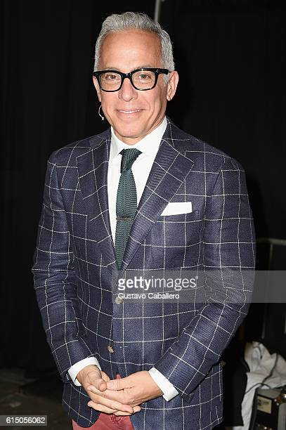 Chef Geoffrey Zakarian poses backstage the Grand Tasting presented by ShopRite featuring Samsung culinary demonstrations presented by MasterCard at...