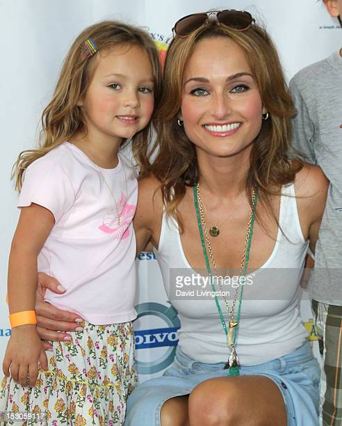 Chef Giada De Laurentiis and daughter Jade Thompson attend the 3rd Annual LA Loves Alex's Lemonade Culinary Event at Culver Studios on September 29...