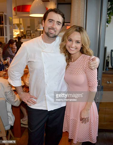 Chef Giada De Laurentiis attends A Perfect Pairing: A Brunch hosted by Giada De Laurentiis and Andrew Carmellini during 2015 Food Network & Cooking...
