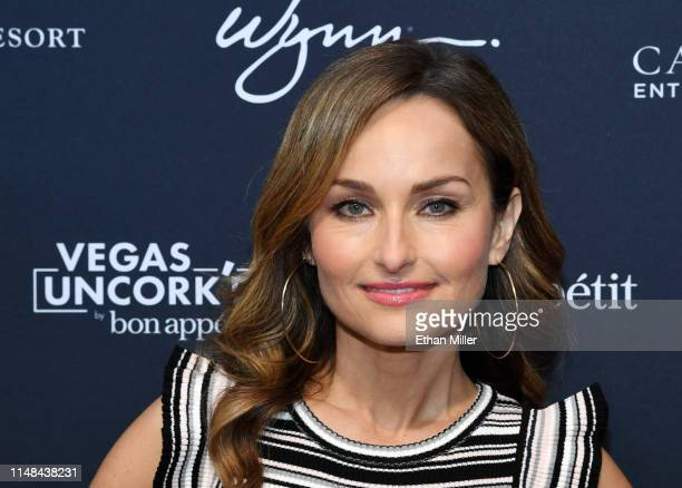 Chef Giada De Laurentiis attends the 13th annual Vegas Uncork'd by Bon Appetit Grand Tasting event presented by the Las Vegas Convention and Visitors...