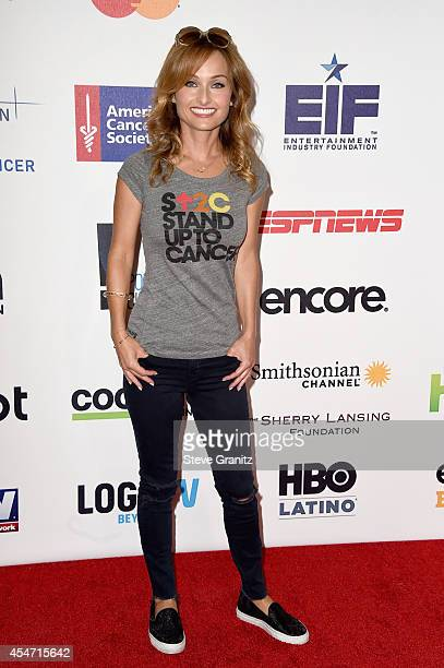 Chef Giada De Laurentiis attends the 4th Biennial Stand Up To Cancer A Program of The Entertainment Industry Foundation at Dolby Theatre on September...