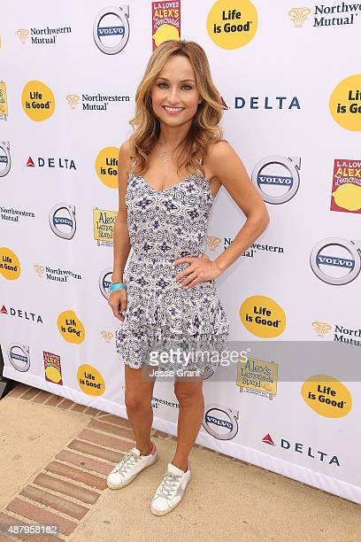 Chef Giada De Laurentiis attends the LA Loves Alex's Lemonade event supported by Life Is Good at UCLA on September 12 2015 in Los Angeles California