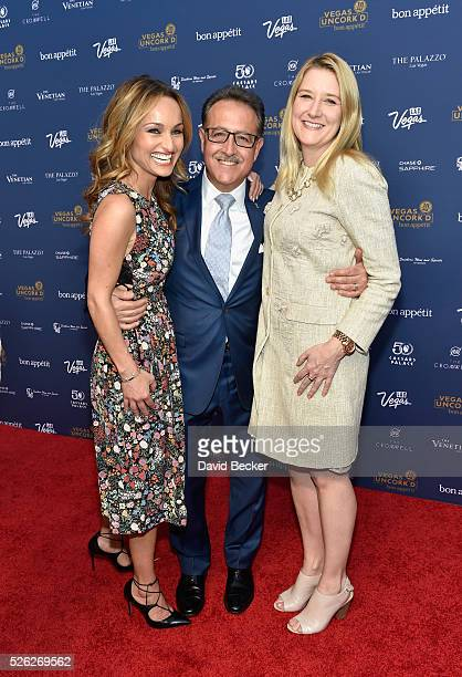 Chef Giada De Laurentiis owner of Bound by Salvatore chef Salvatore Calabrese and Regional President of The Flamingo The LINQ and The Cromwell Eileen...