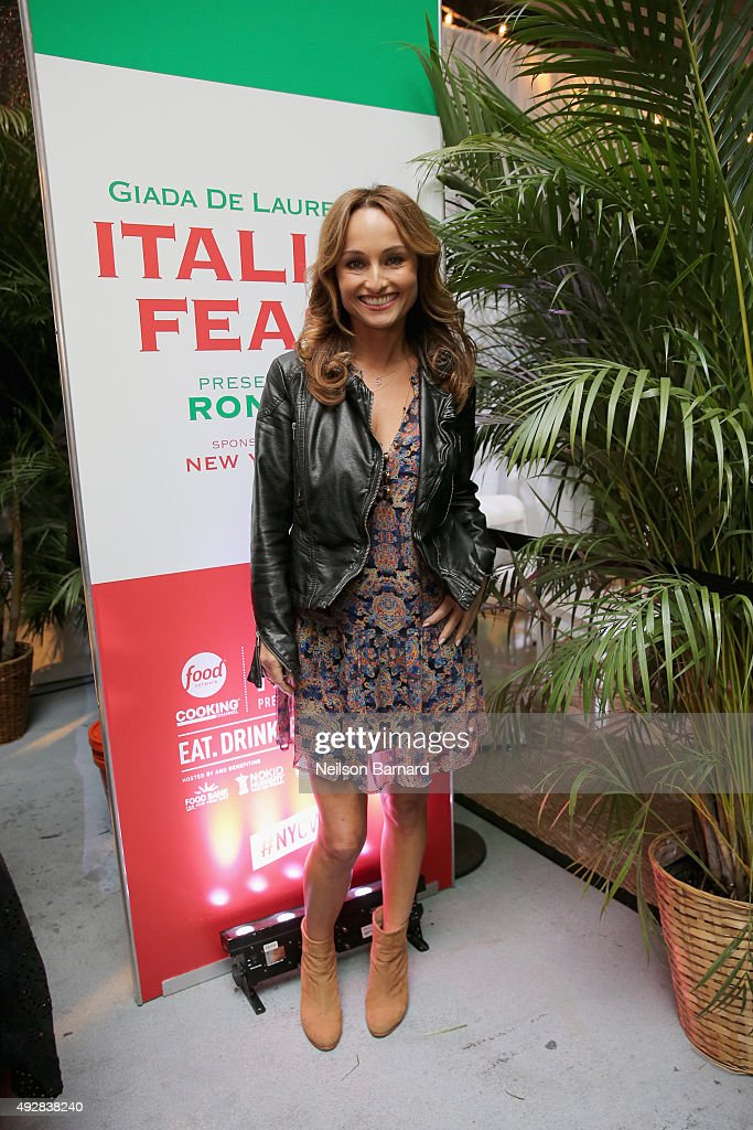 Giada De Laurentiis' Italian Feast Presented By Ronzoni - Sponsored By The New York Post - Food Network & Cooking Channel New York City Wine & Food Festival presented By FOOD & WINE
