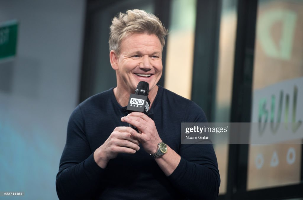"Build Series Presents Gordon Ramsay Discussing ""MasterClass: Gordon Ramsay Teaches Cooking"" : News Photo"