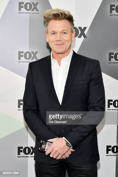 Chef Gordon Ramsay attends the 2018 Fox Network Upfront at Wollman Rink Central Park on May 14 2018 in New York City