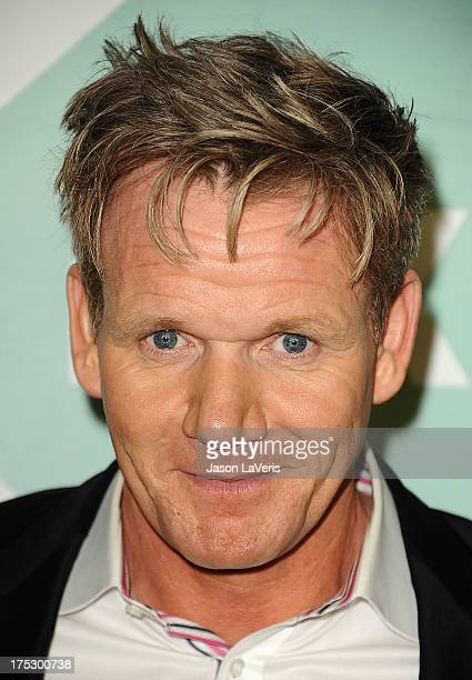 Chef Gordon Ramsay attends the FOX AllStar Party on August 1 2013 in West Hollywood California