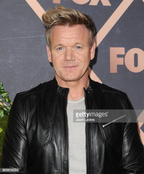 Chef Gordon Ramsay attends the FOX Fall Party at Catch LA on September 25 2017 in West Hollywood California
