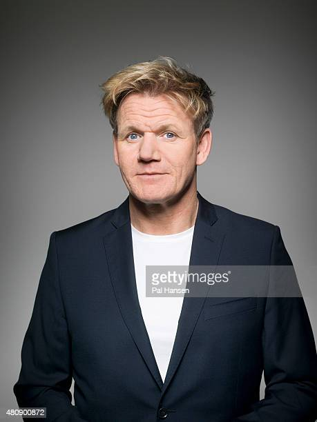 Chef Gordon Ramsay is photographed for Event magazine on March 6 2015 in London England